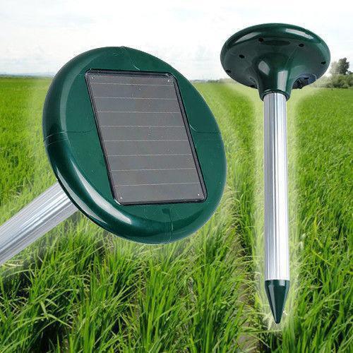 Отпугиватель кротов на солнечной батарее Garden Pro